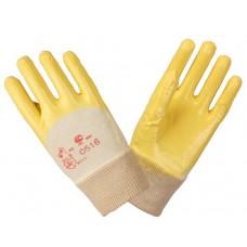 Перчатки нитриловые с легким покрытием