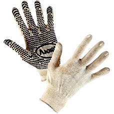 Перчатки вязаные х/б 13 класс вязки